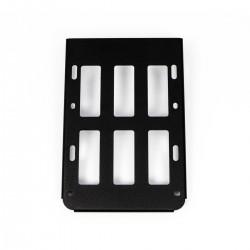 CUSTOM ACCES Sissybar luggage rack, black, Sportster 04-19