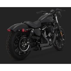 VANCE & HINES Mini Grenades negre pentru Harley Davidson Sportster 2004-2020