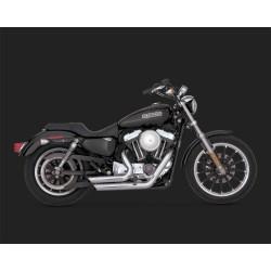 VANCE & HINES Shortshots Staggered cromate pentru Harley Davidson Sportster 2004-2013