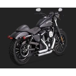 VANCE & HINES Shortshots Staggered cromate pentru Harley Davidson Sportster 2014-2020