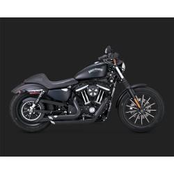 VANCE & HINES Shortshots Staggered Black for Harley Davidson Sportster 2014-2020