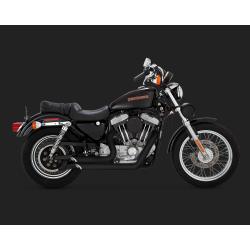 VANCE & HINES Shortshots Staggered Black for Harley Davidson Sportster 1999-2003