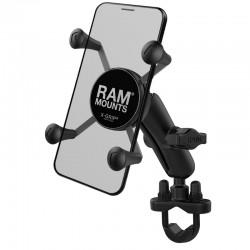 """RAM MOUNTS X-Grip® Suport telefon mediu cu prindere tip """"U-Bolt"""" pentru ghidoane 0.5"""" - 1.25"""""""
