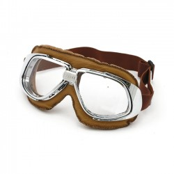 BANDIT Classic Leather Brown Goggles