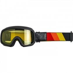 BILTWELL Overland 2.0 Goggles - Tri-Stripe Black R/Y/O