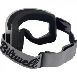 BILTWELL Moto 2.0 Goggles - Script Titanium