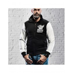 HOLY FREEDOM B&W Sweatshirt Fullzip