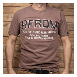 HOLY FREEDOM Brown T-shirt