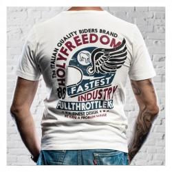 HOLY FREEDOM Helmet White Tricou