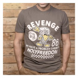 HOLY FREEDOM Revenge Green Tricou
