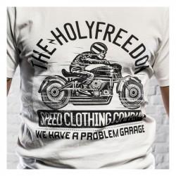 HOLY FREEDOM Skeleton Rider Tricou