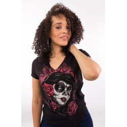 LETHAL ANGEL Red Catrina