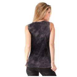 WCC Loudest and Fastest ladies retro tank-top