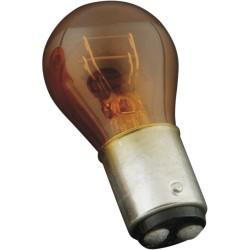 FLOSSER Turn Signal Bulb, BAY15d (1157), Dual Filament, Amber