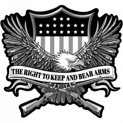 LETHAL THREAT Right to Bear Arms Eagle