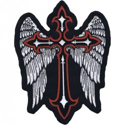 LETHAL THREAT Winged Cross